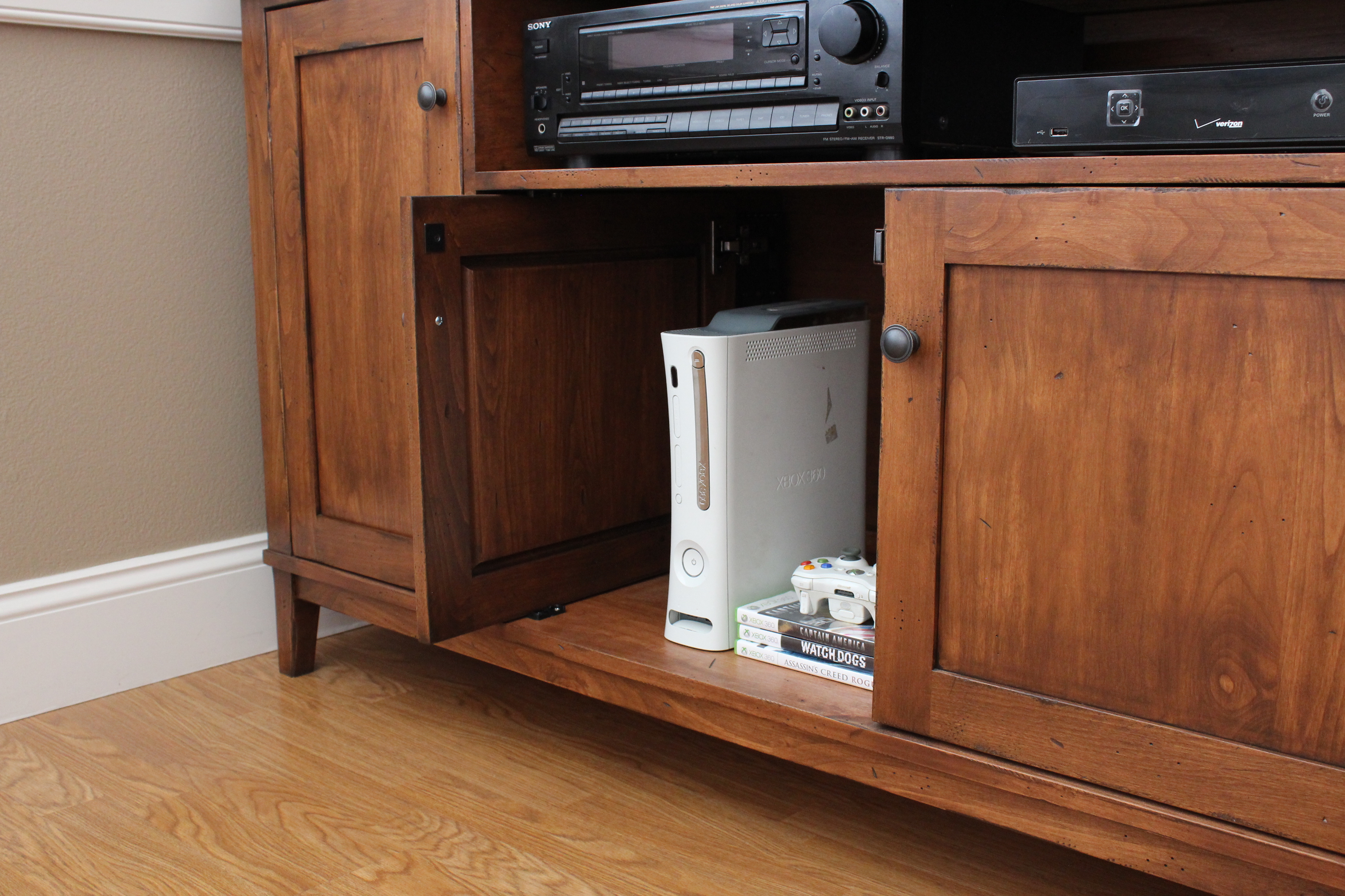 Ana White Pottery Barn Media Console Diy Projects