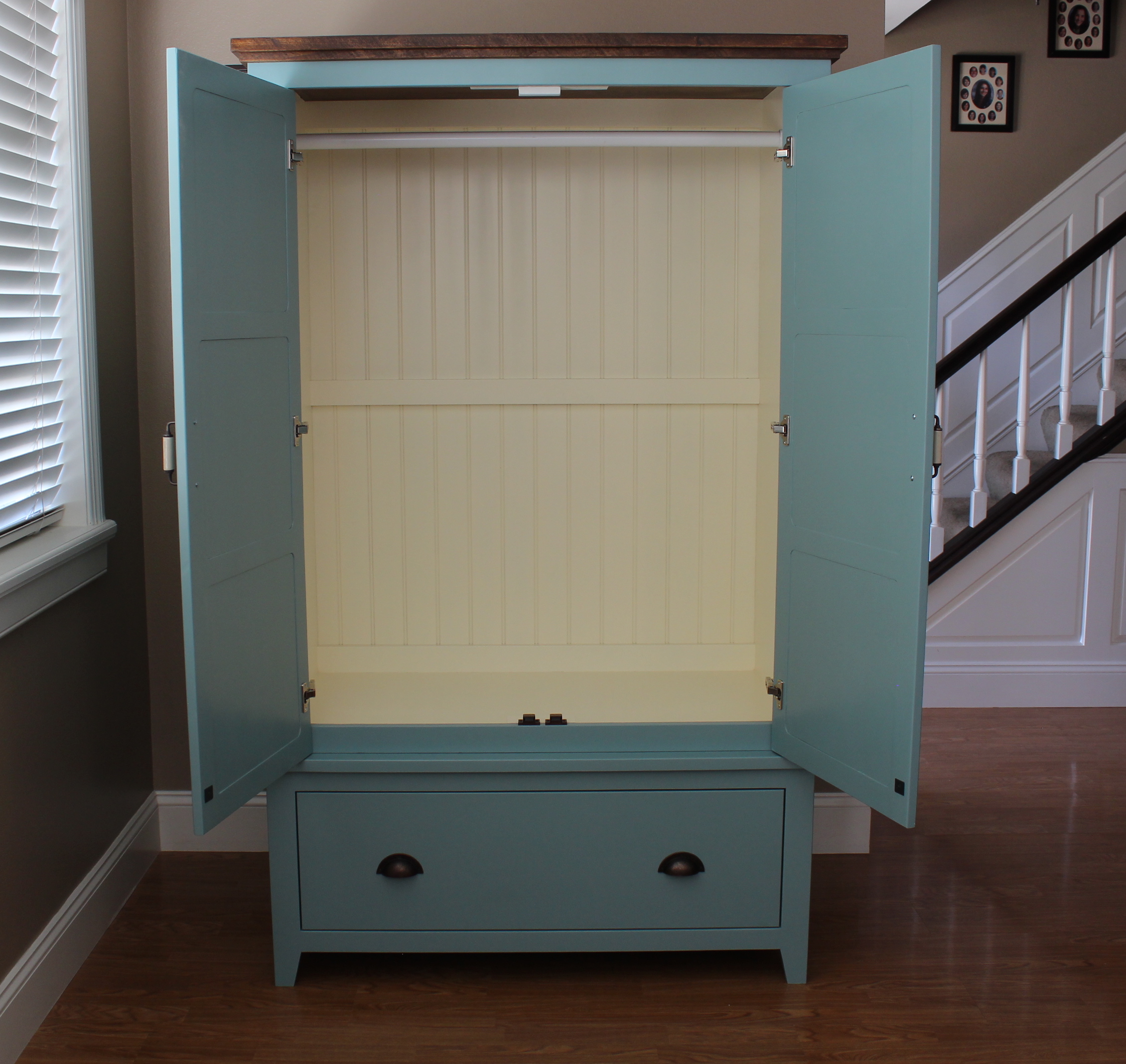 Paint Job Cost >> Ana White | French County Wardrobe - DIY Projects