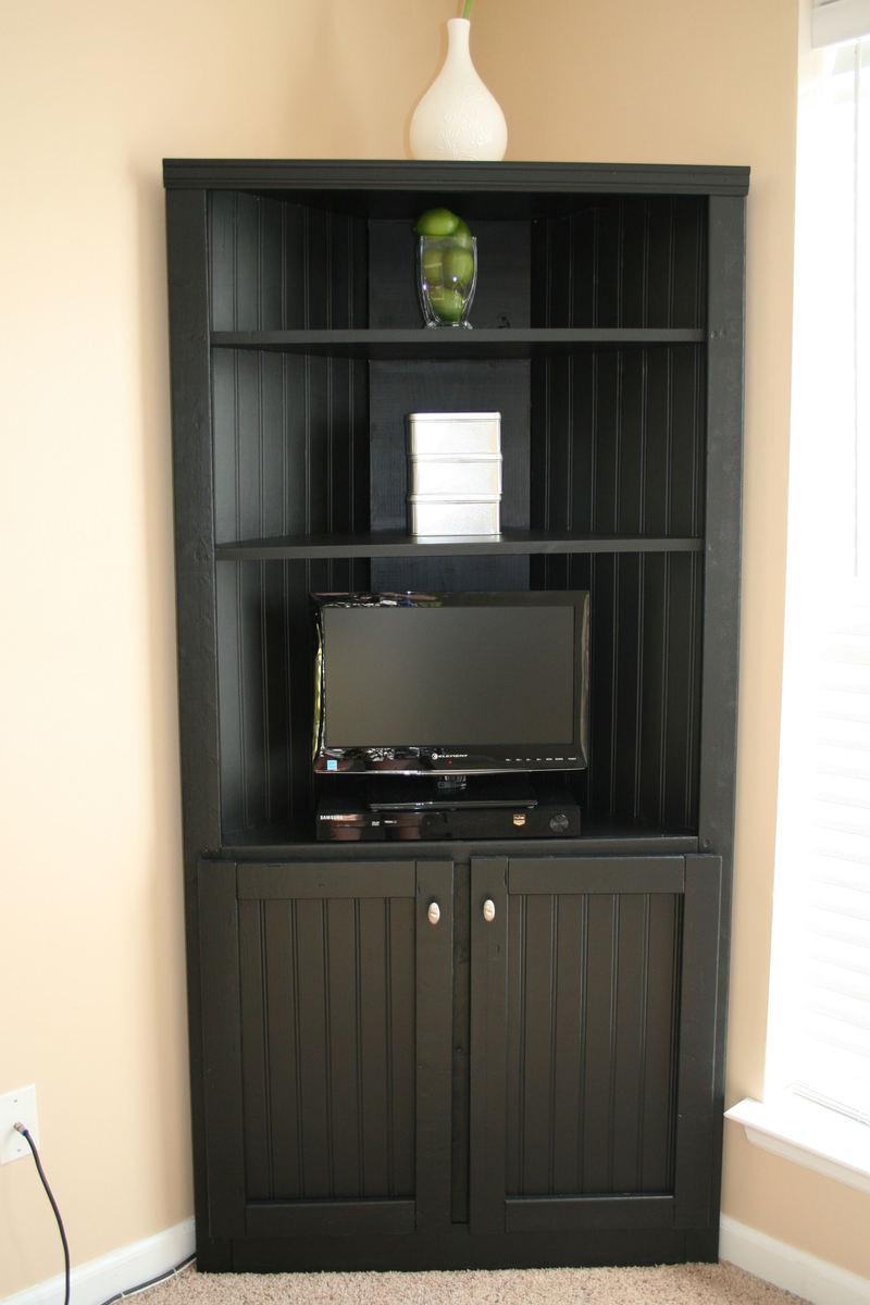 Corner Cabinet Storage Shelf