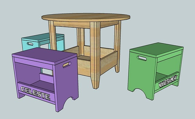 Childrens Play Table Featuring A Roomy Storage Compartment. Kidu0027s Will Love  To Play With One Of These.