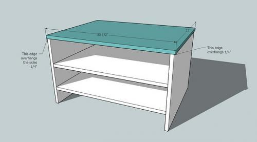 Foyer Size Plans : Download entryway shoe bench plans free