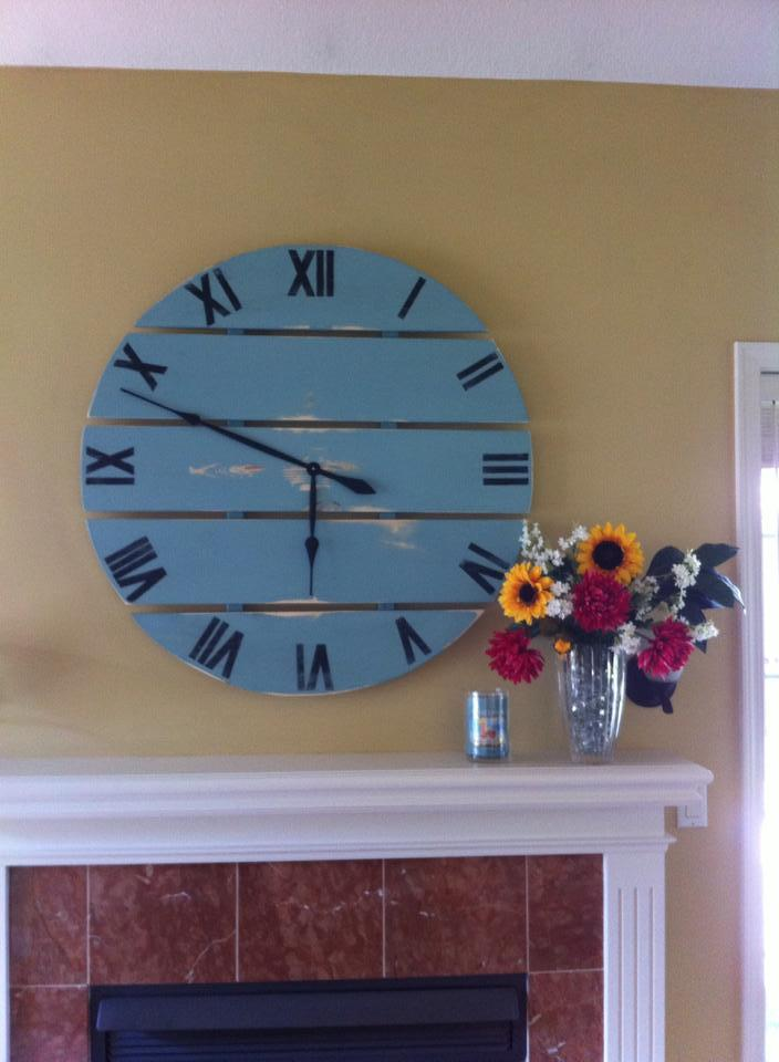Ana White Large Wall Clock Diy Projects