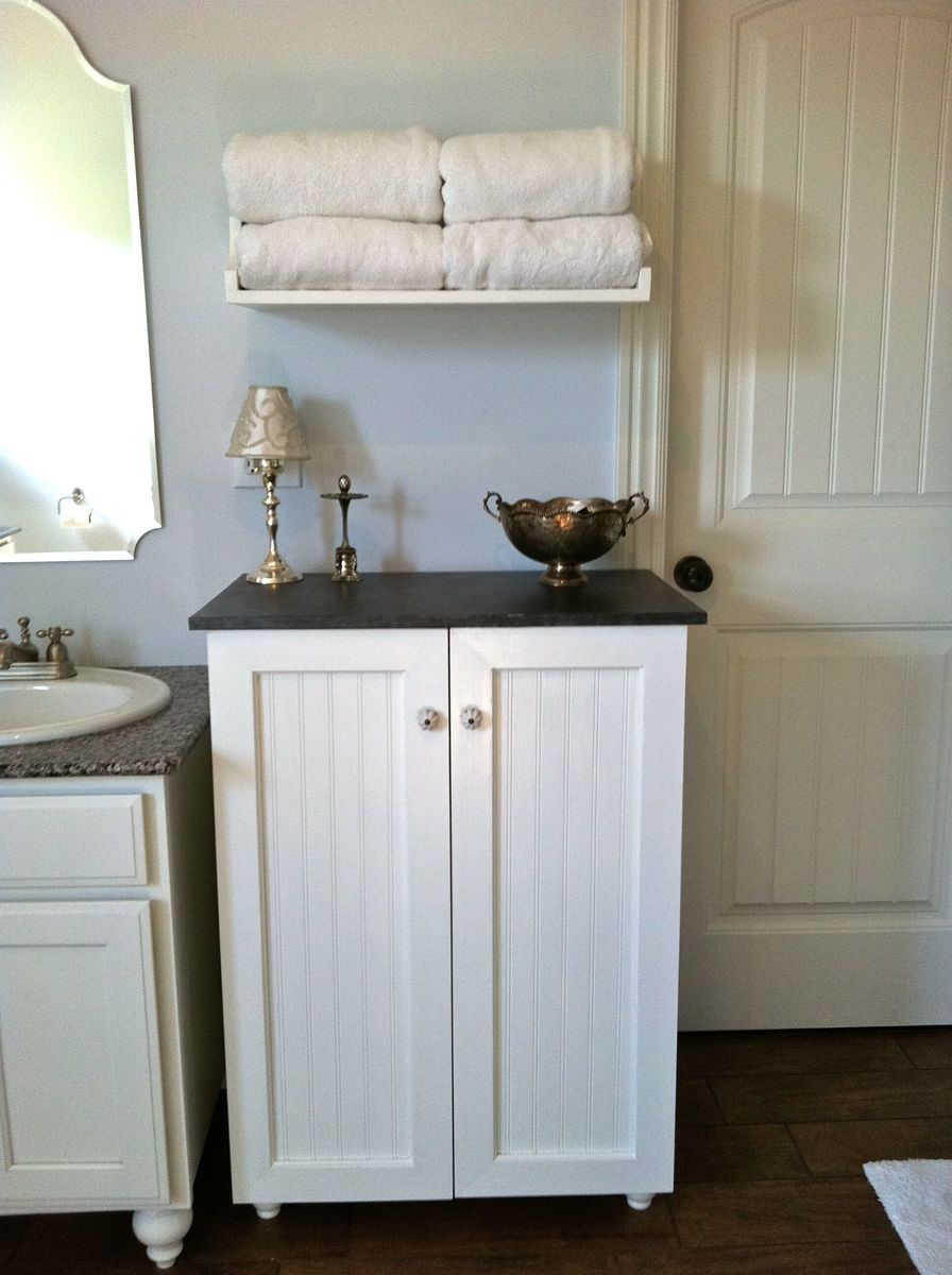 Ana White My Laundry Basket Dresser With Doors Diy