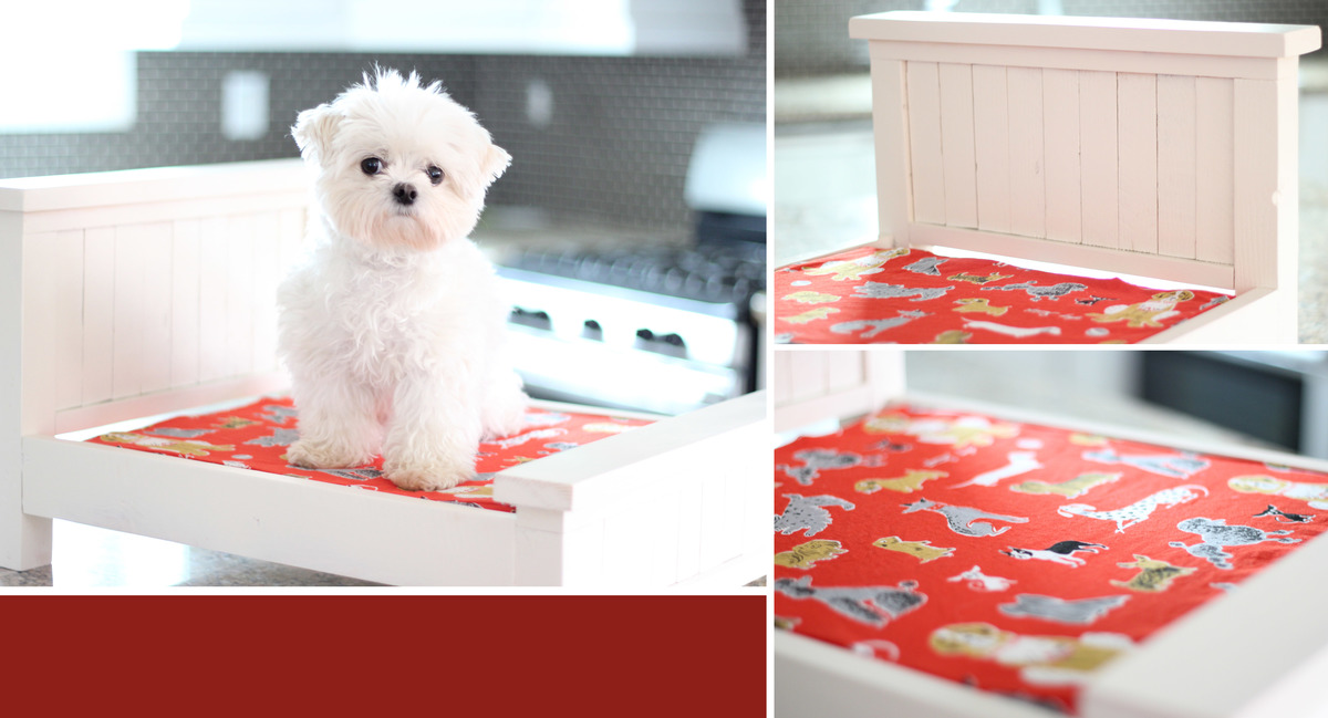 ana white  small dog bed  diy projects -