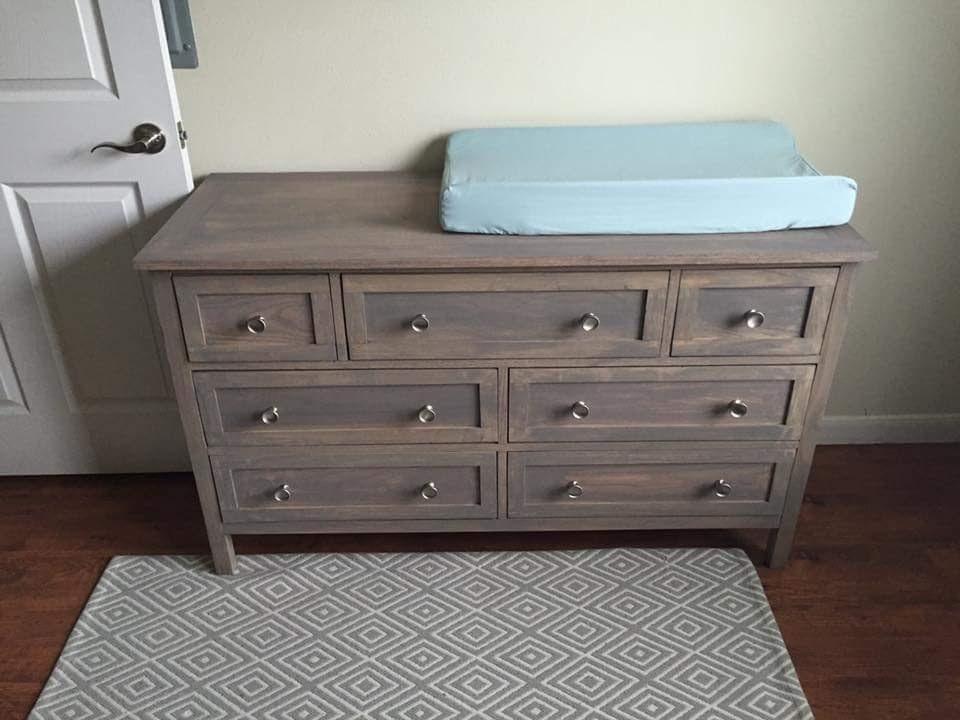 Marshalls Dresser Changing Table Ana White