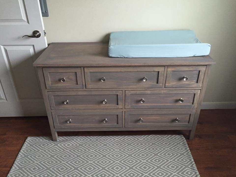 Ana White Marshall S Dresser Changing Table Diy Projects
