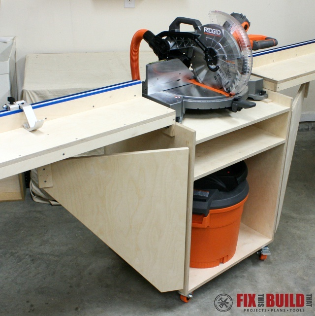 You can see the full build plans on my Mobile Miter Saw Station post ...