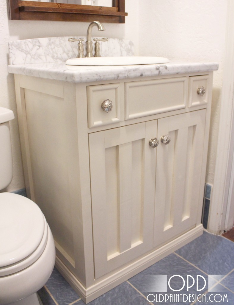 ana white napoleon sink console vanity diy projects