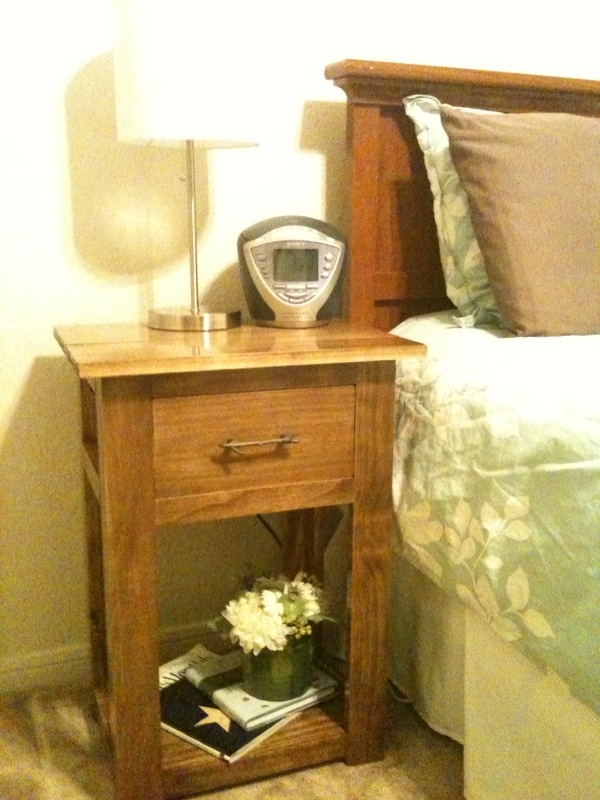 Ana white simple nightstands diy projects for Simple nightstand designs