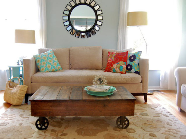 Ana White Factory Cart Coffee Table DIY Projects