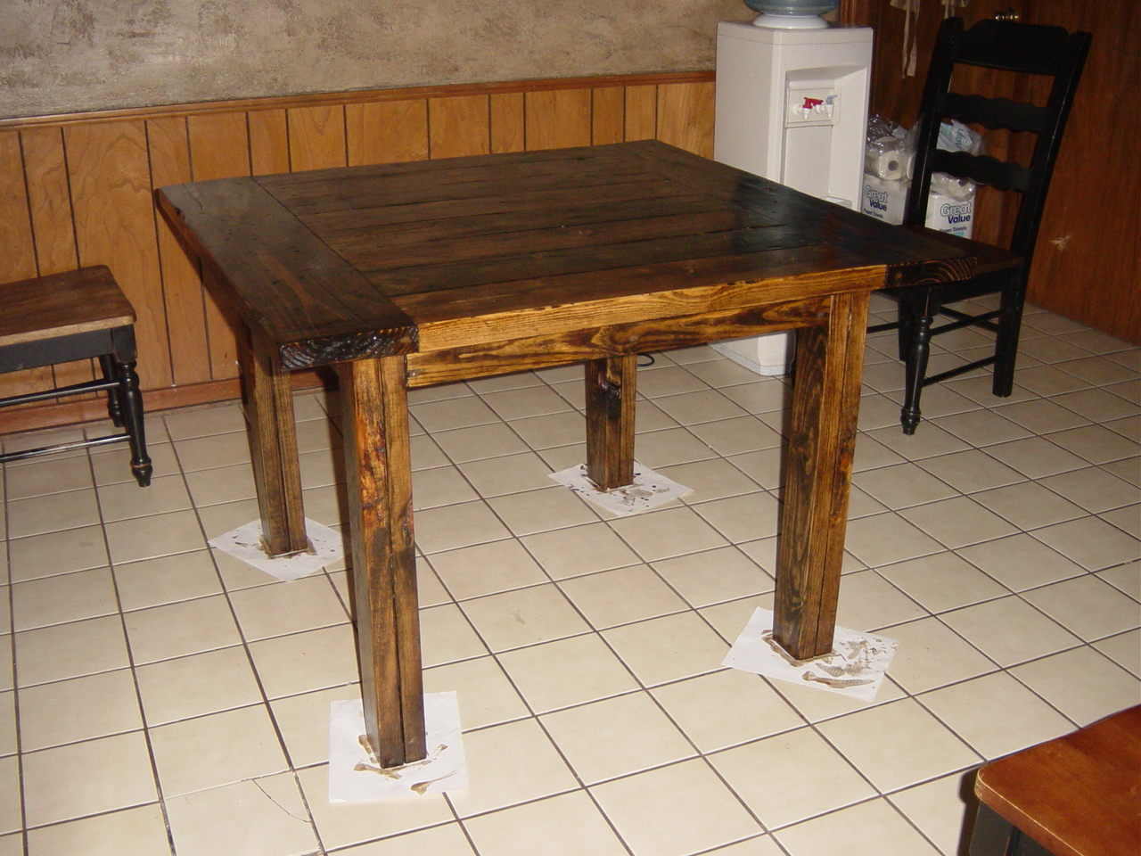 Bench wood guide plans for a kitchen table - Wood kitchen table plans ...