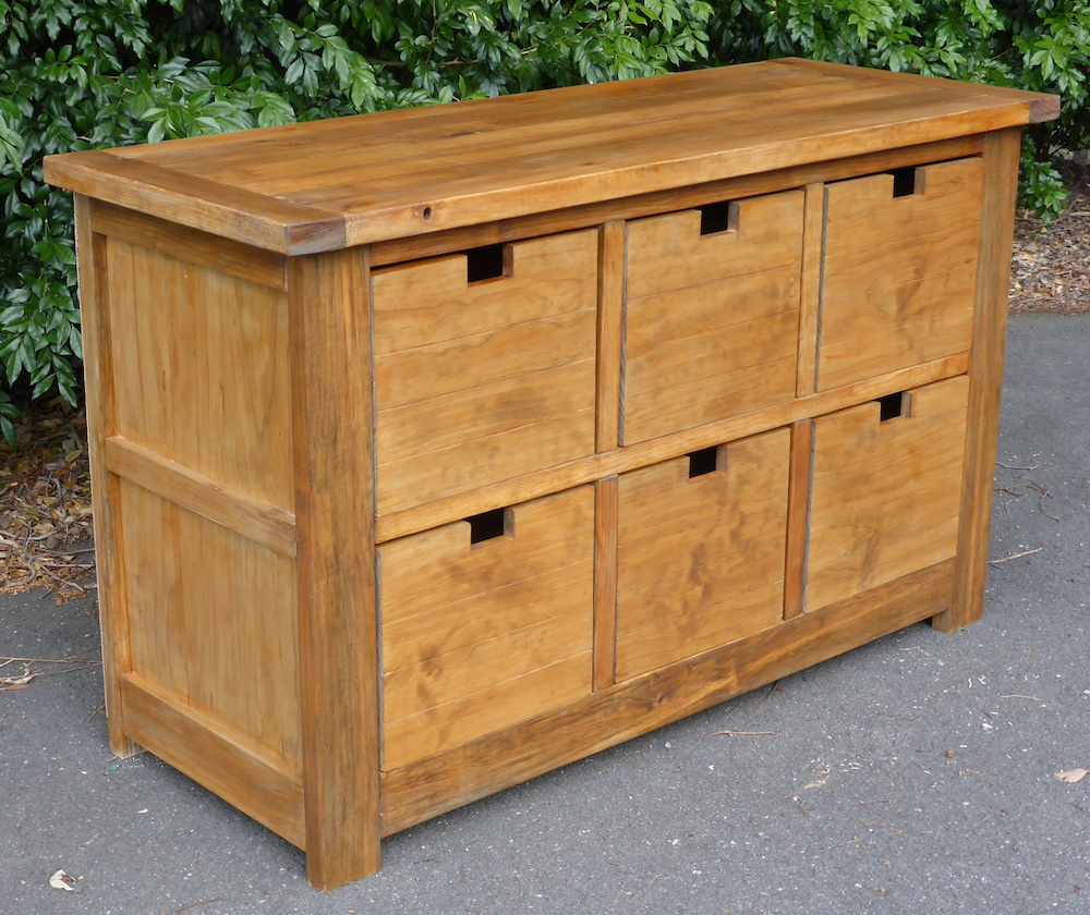 Dumpster Dresser From 2x4s Ana White