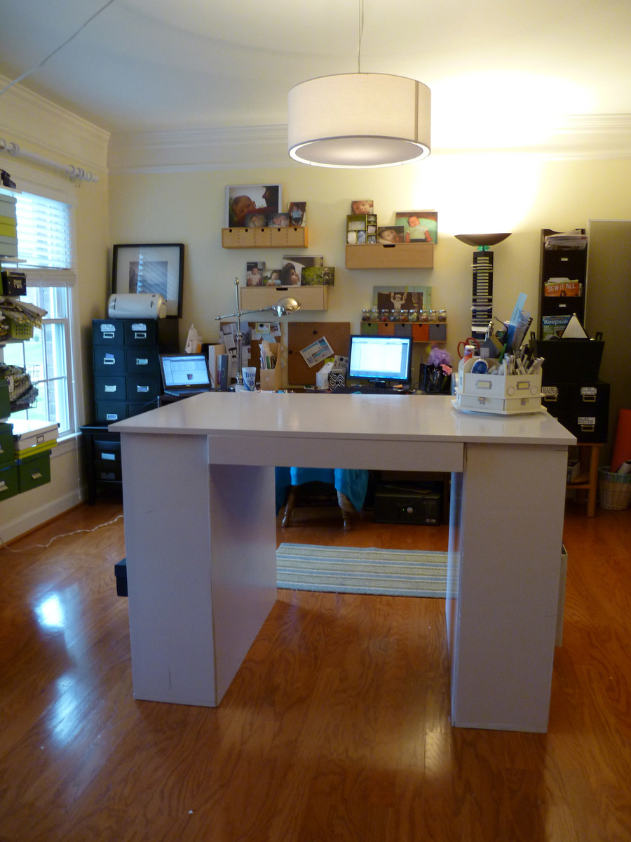 Ana white craft table build diy projects solutioingenieria Images