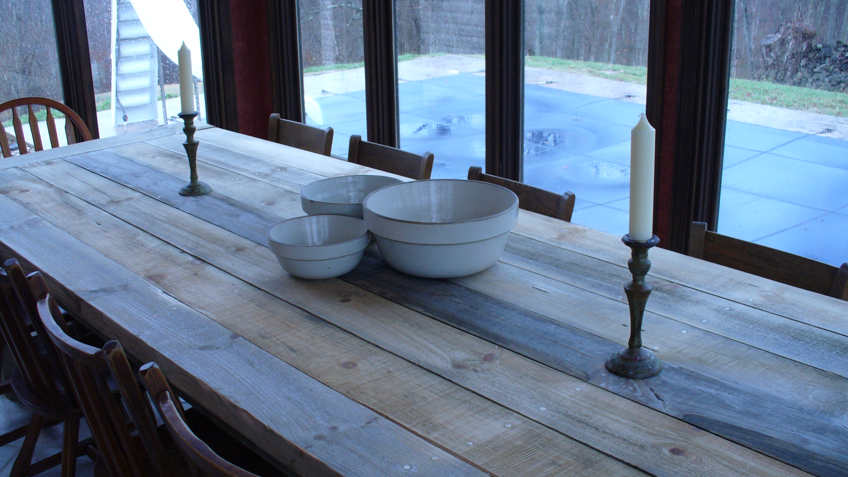 Ana White Big Farm Table DIY Projects - How to make a farm table