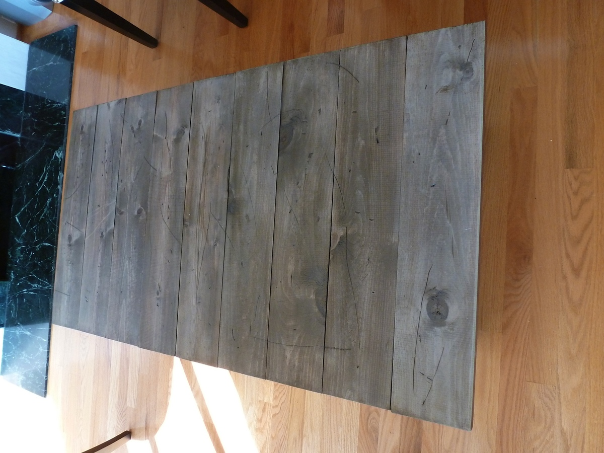 Rustoleum Driftwood Stain Ana White Factory Cart Coffee Table Diy Projects