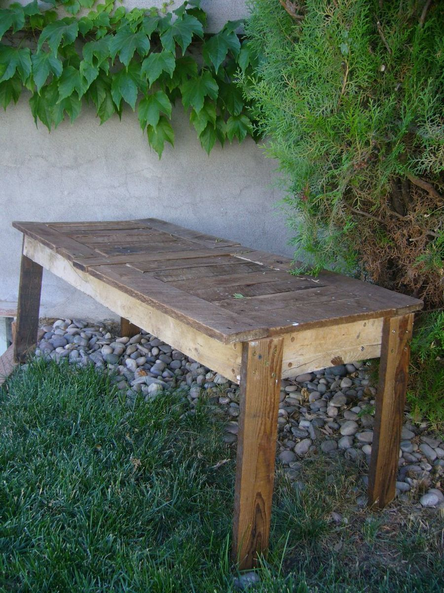 ana white rustic garden bench diy projects. Black Bedroom Furniture Sets. Home Design Ideas
