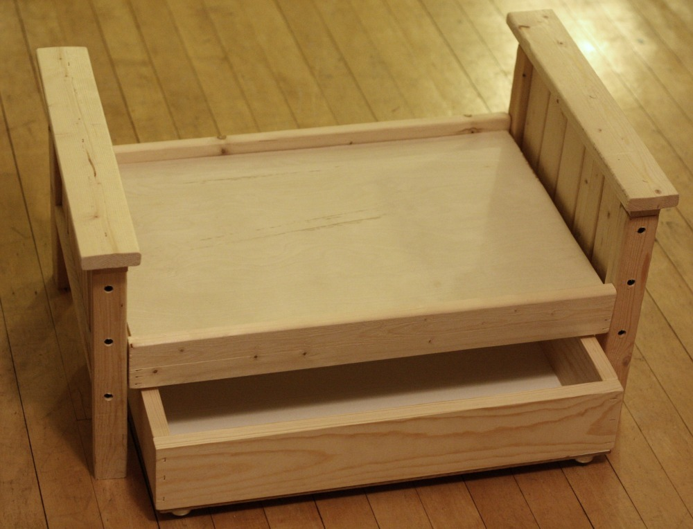 Doll Bed with Trundle
