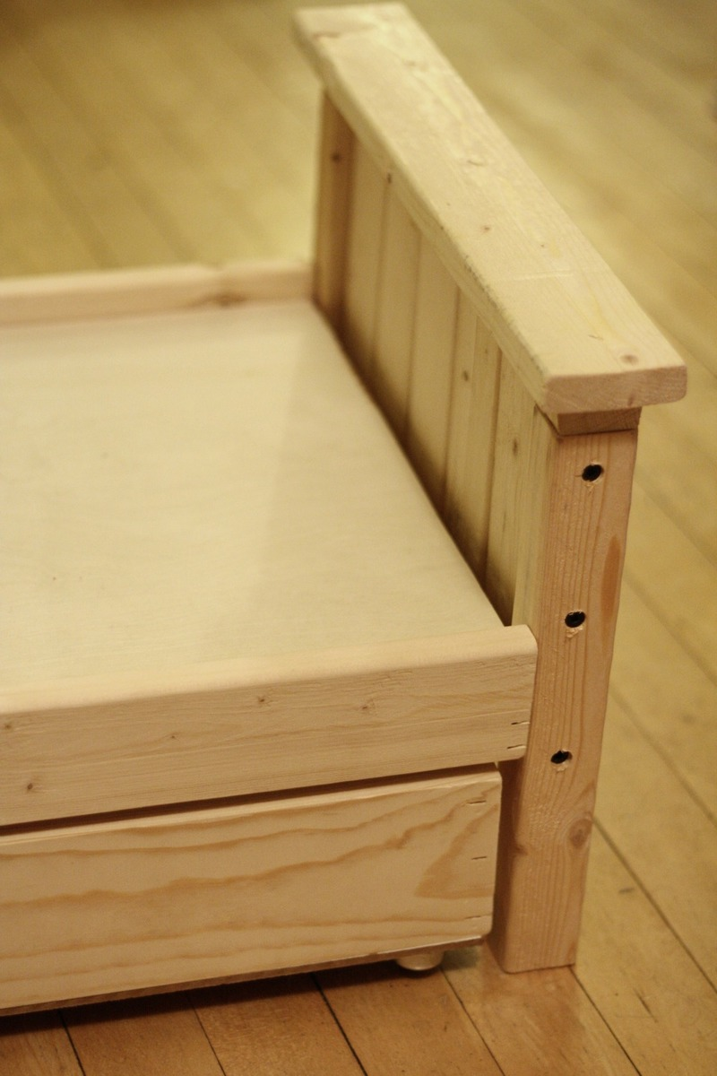 Project Working Idea: Detail Free bed woodworking plans ...