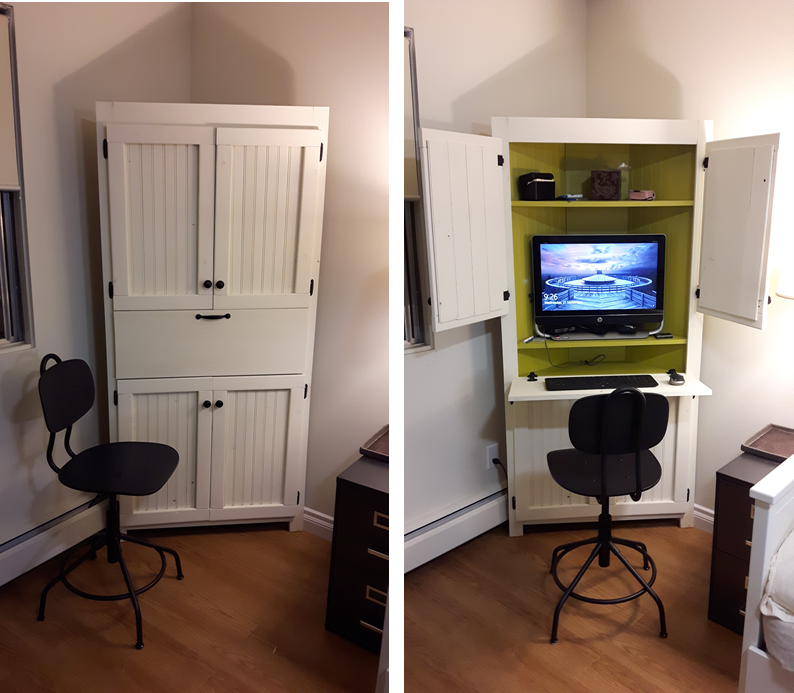 Ana White Corner Computer Cabinet Diy Projects