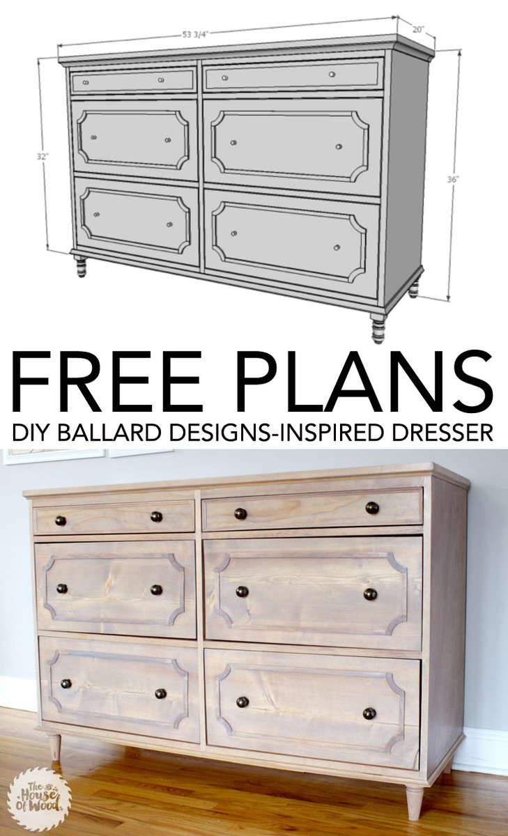Ana White Emily Dresser Diy Projects