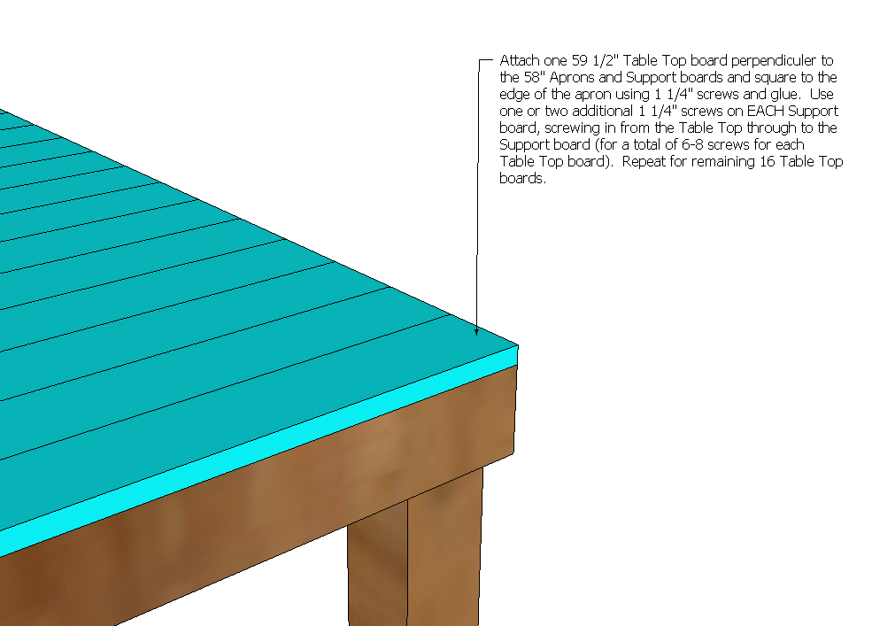 Pub/Counter Height Table (Seats 8)