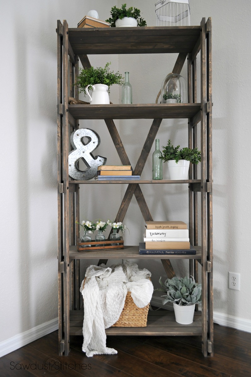 Ana White Arhaus Inspired Bookshelf Diy Projects