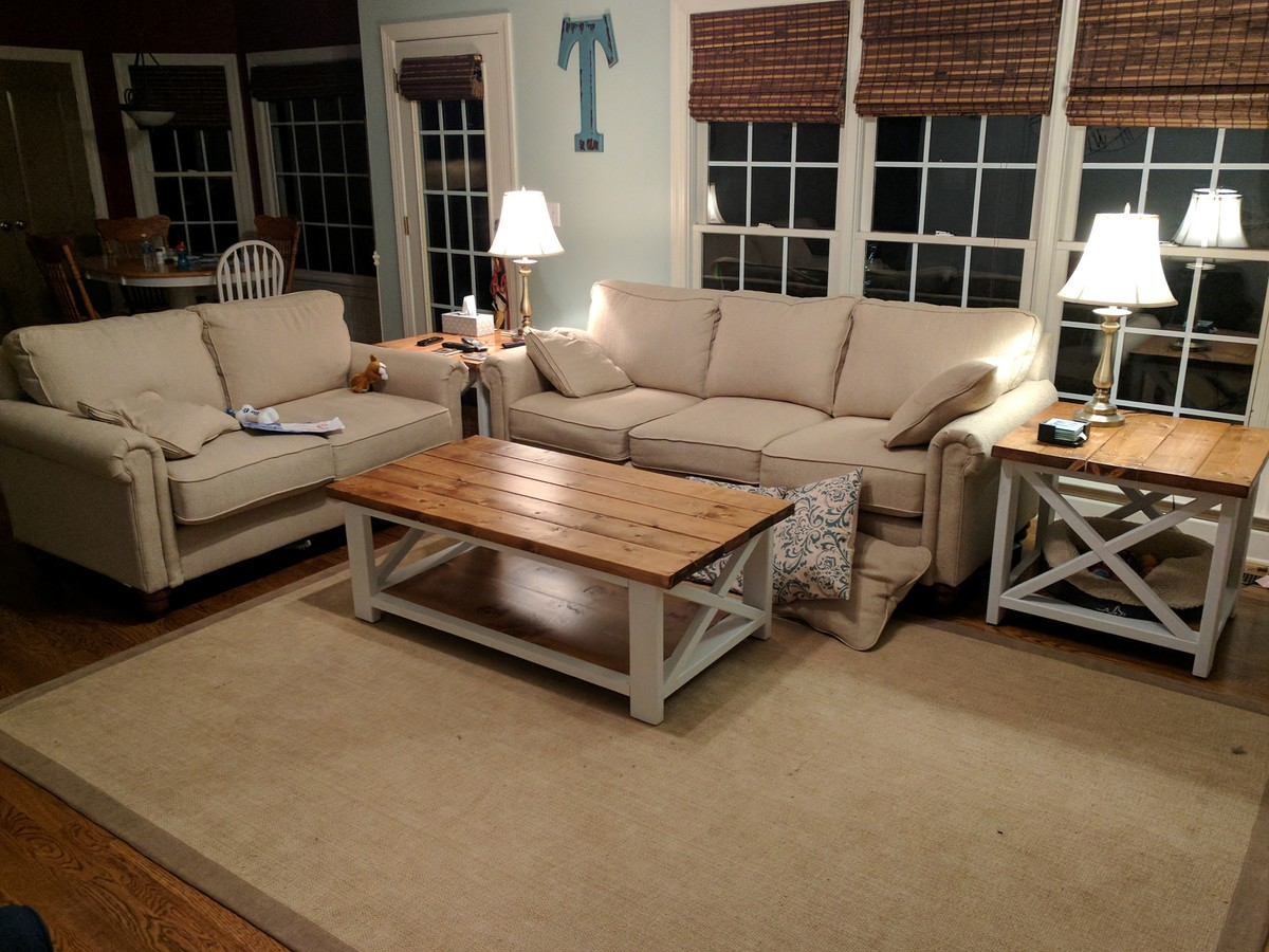 Rustoleum Paint Job >> Ana White | Rustic X Coffee Table - DIY Projects