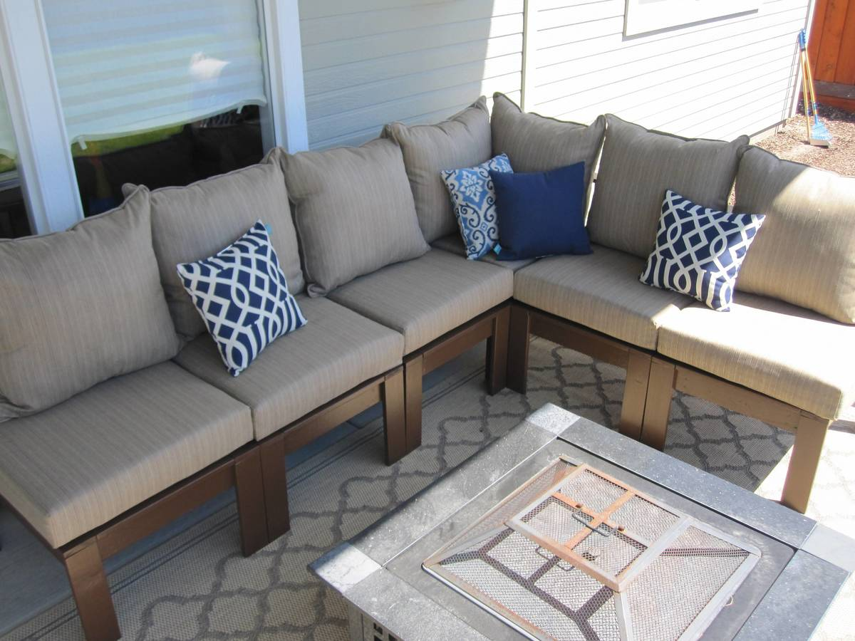 Outdoor Sectional : ana white patio sectional - Sectionals, Sofas & Couches