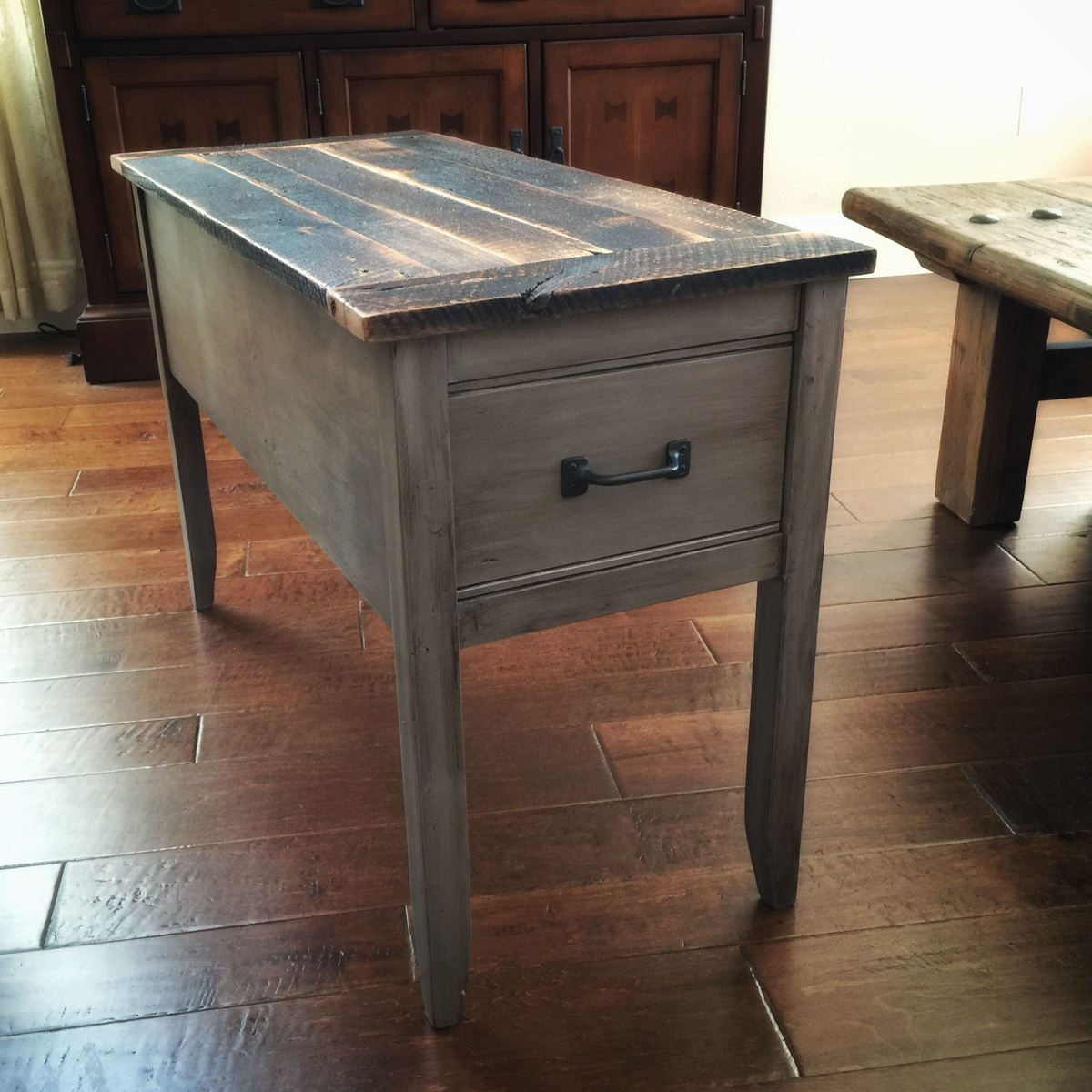 ana white barnwood narrow cottage end table diy projects rh ana white com cottage style end tables cottage end tables distressed