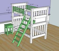 In This Method You Can Also Unemble The Bunk Beds And Use As Twin Sized Later