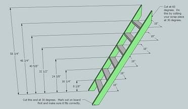 Woodworking plans build bunk bed ladder PDF Free Download