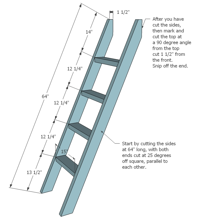 ... Simple Bunk Bed Plans | Free and Easy DIY Project and Furniture Plans