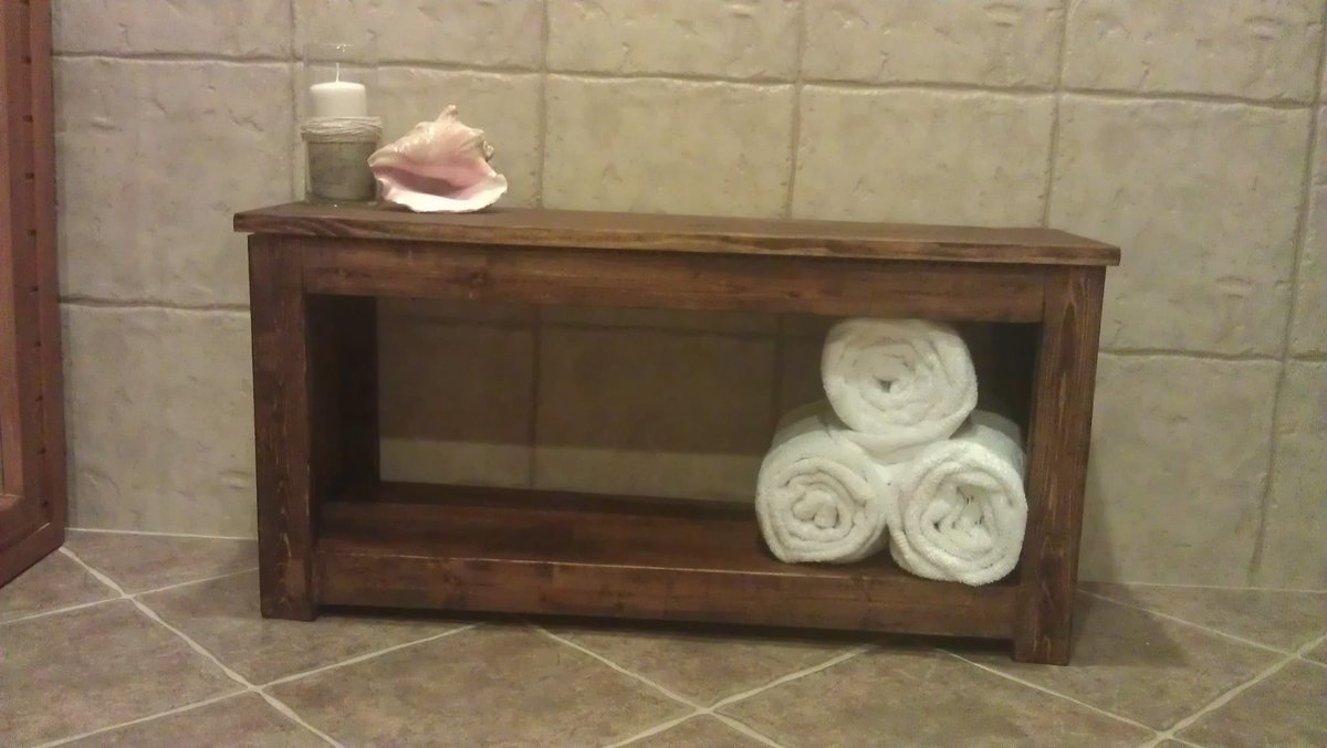 spa for our bathroom pin to redecorate bamboo bench time
