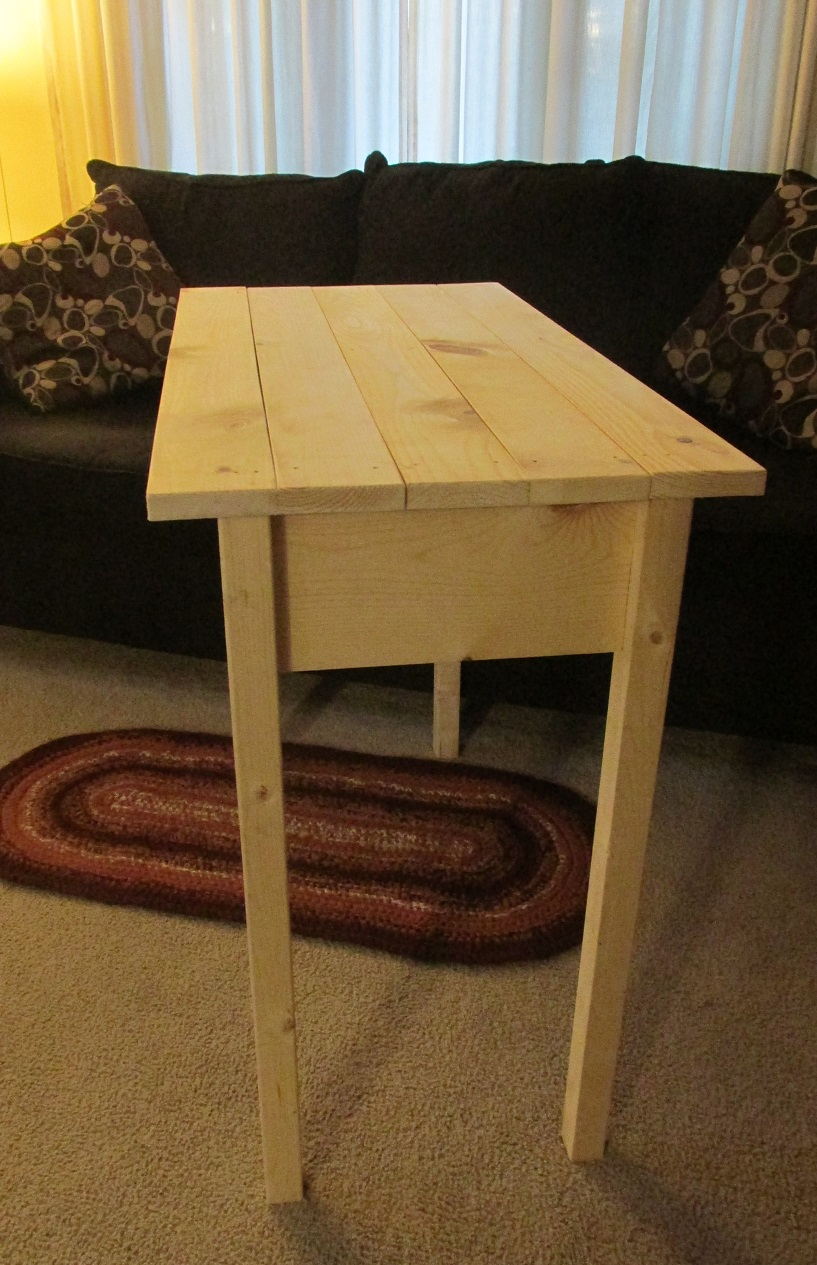 Ana White Farm House Writing Desk Diy Projects