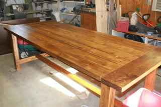 Farmhouse Table For Our Busy Family Of 8