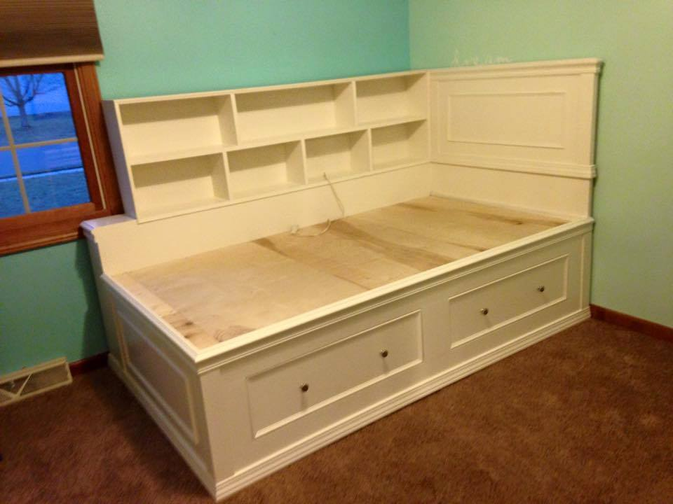 Ana White | Twin captain bed - DIY Projects