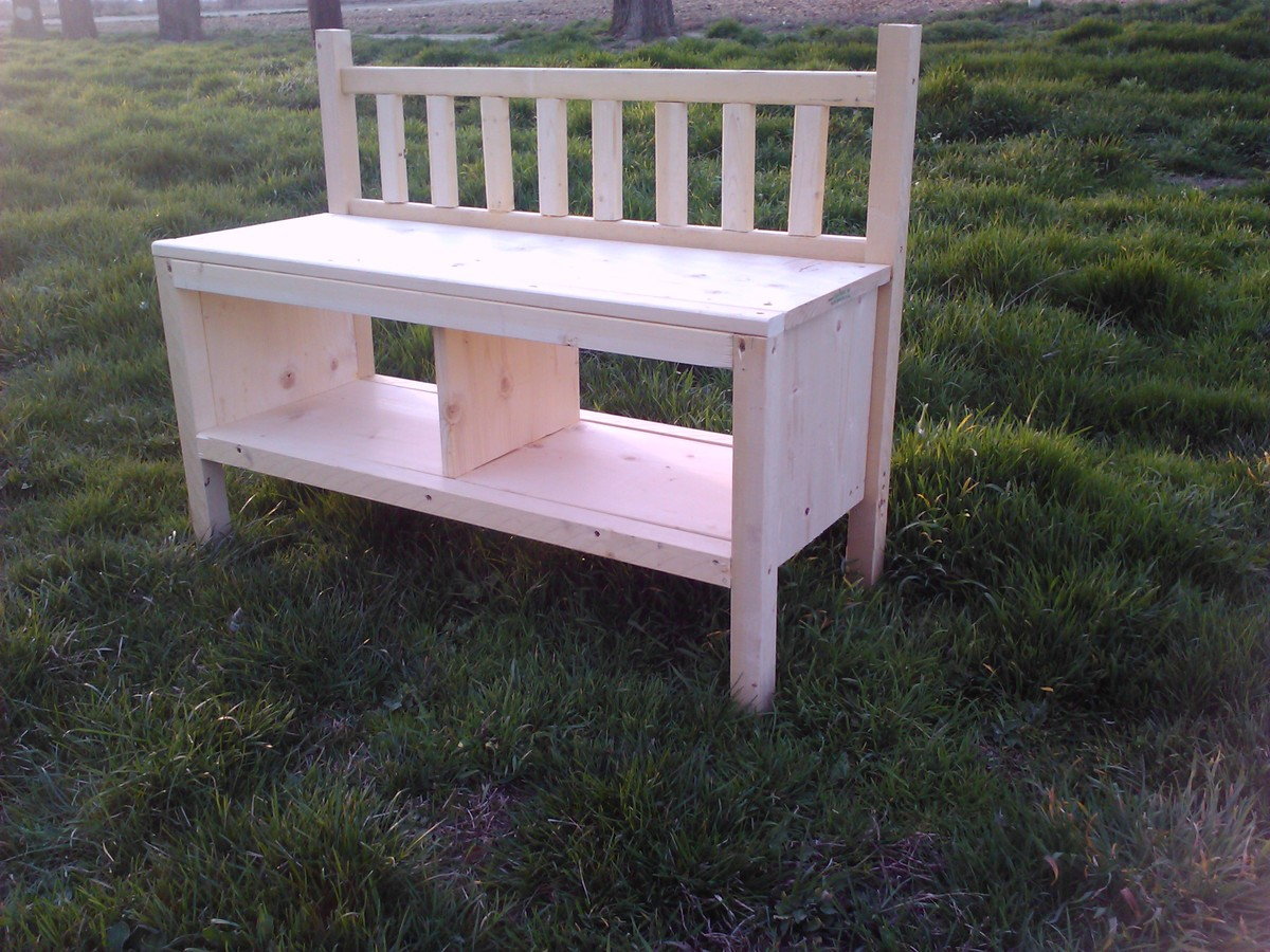 Ana White Cottage Bench In A Day Diy Projects