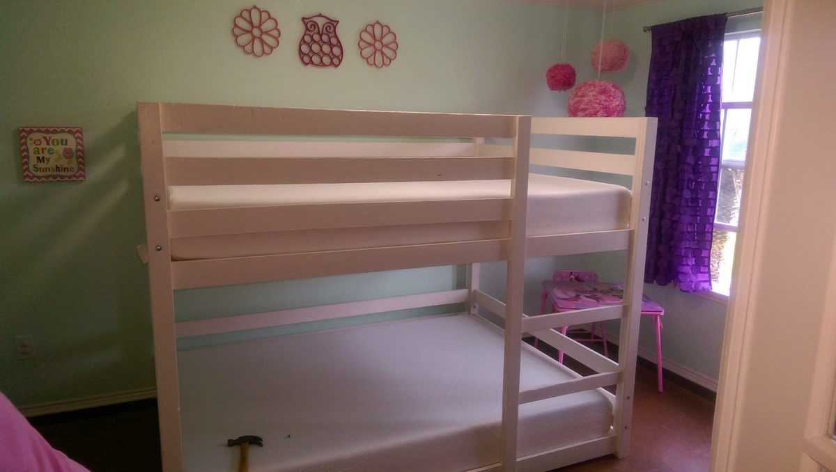 Picture of: Full Over Full Bunk Bed Ana White