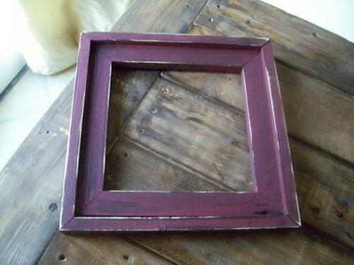 so the next morning in my bathrobe with my daughter still sleeping in 10 minutes i used exactly one 12 75 cents to build this frame a 12x12 size - My Barnwood Frames