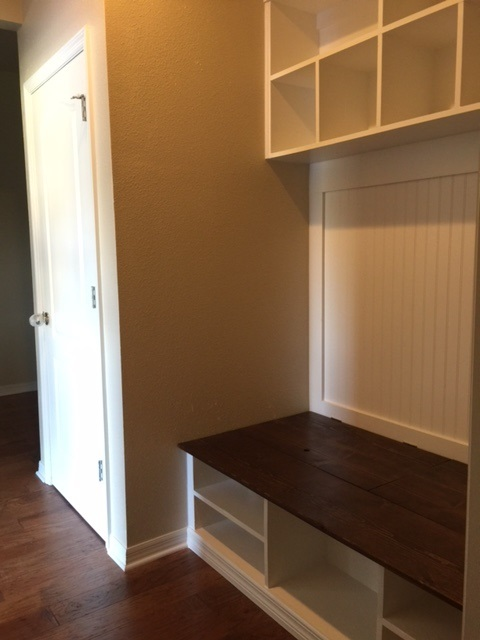 Ana White Extra Wide Shoe Bench And Cubby Area Diy