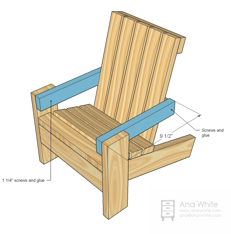 And Then Mark The Front Legs And Attach To The Chair Front As Shown In The  Diagram.