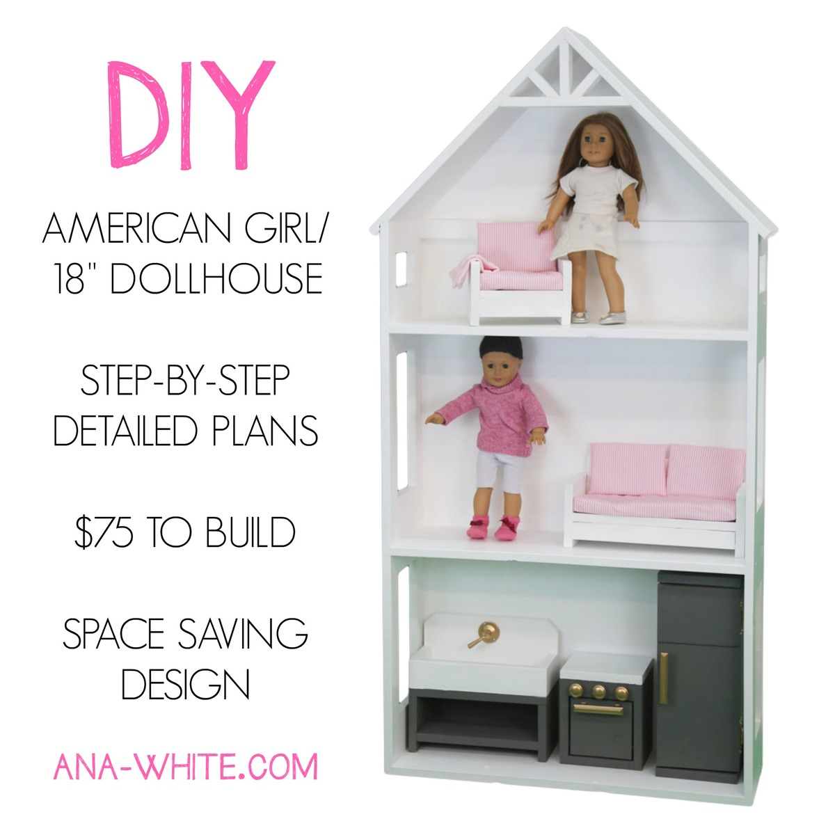 Ana White | Smaller Three Story Dollhouse for 18"|1200|1200|?|4f1317ab423b8a5abf7e22a0adb86e97|False|UNLIKELY|0.3975709080696106
