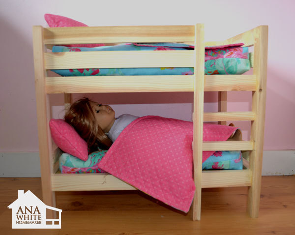 Build How To Build An American Girl Doll Bunk Bed