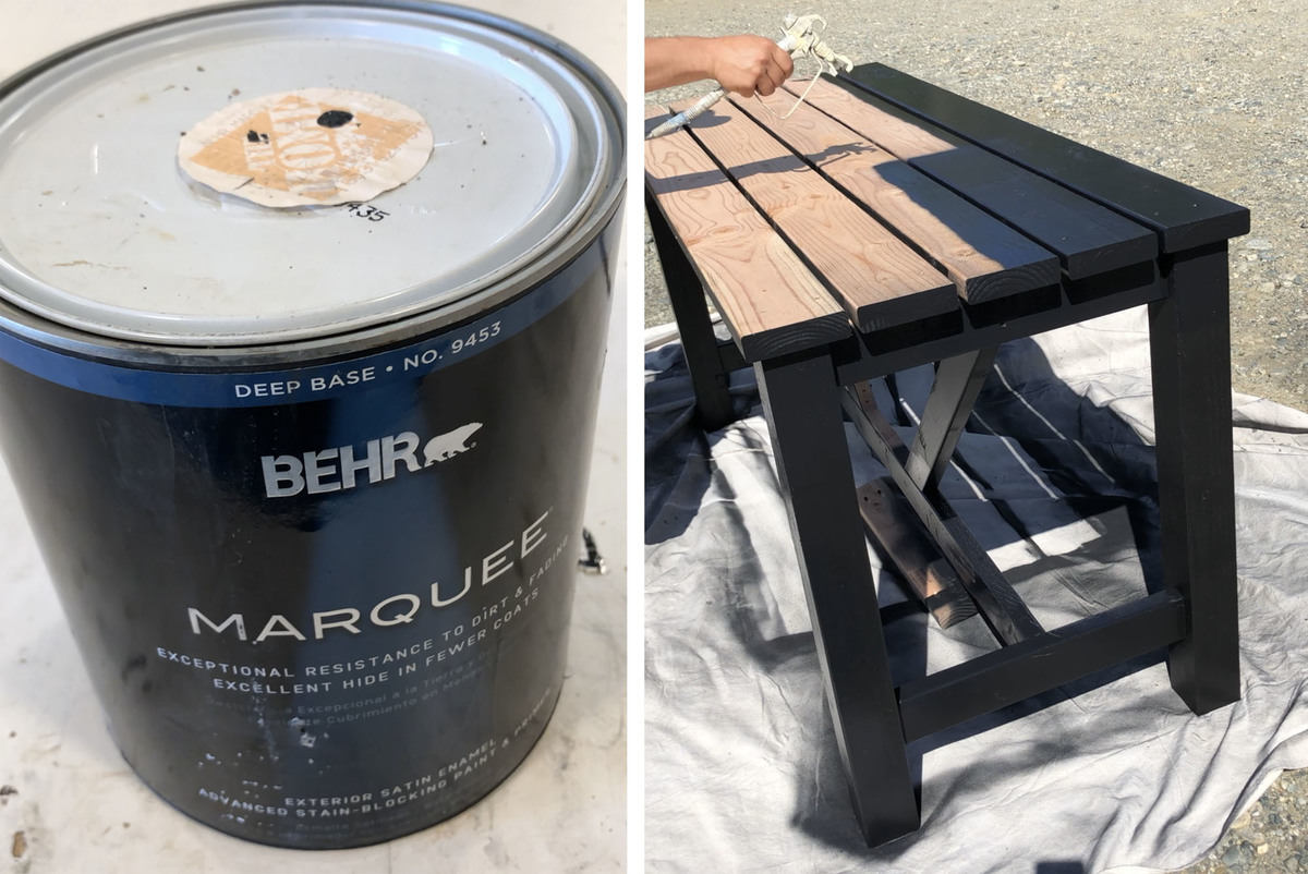 Our Go To Paint Is Behr (R) Marquee  Its True