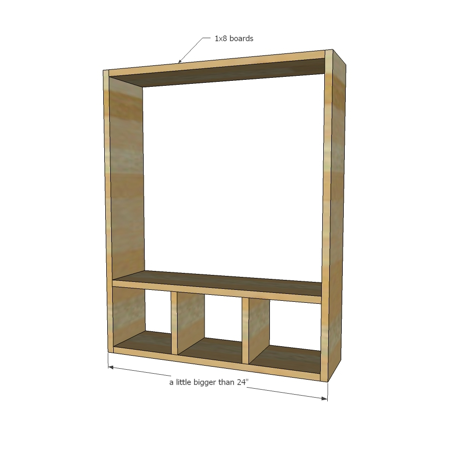 Building white pantry cabinet