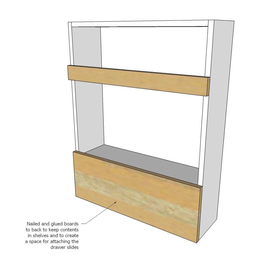 Ana White Slide Out Entry Pantry Cabinet For Tiny House Diy Projects