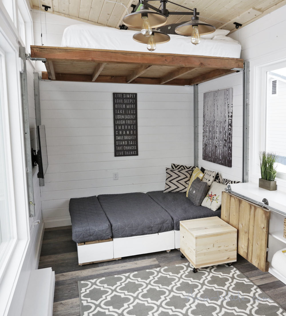 Making Cushions For Tiny House Storage Sectional Ana White