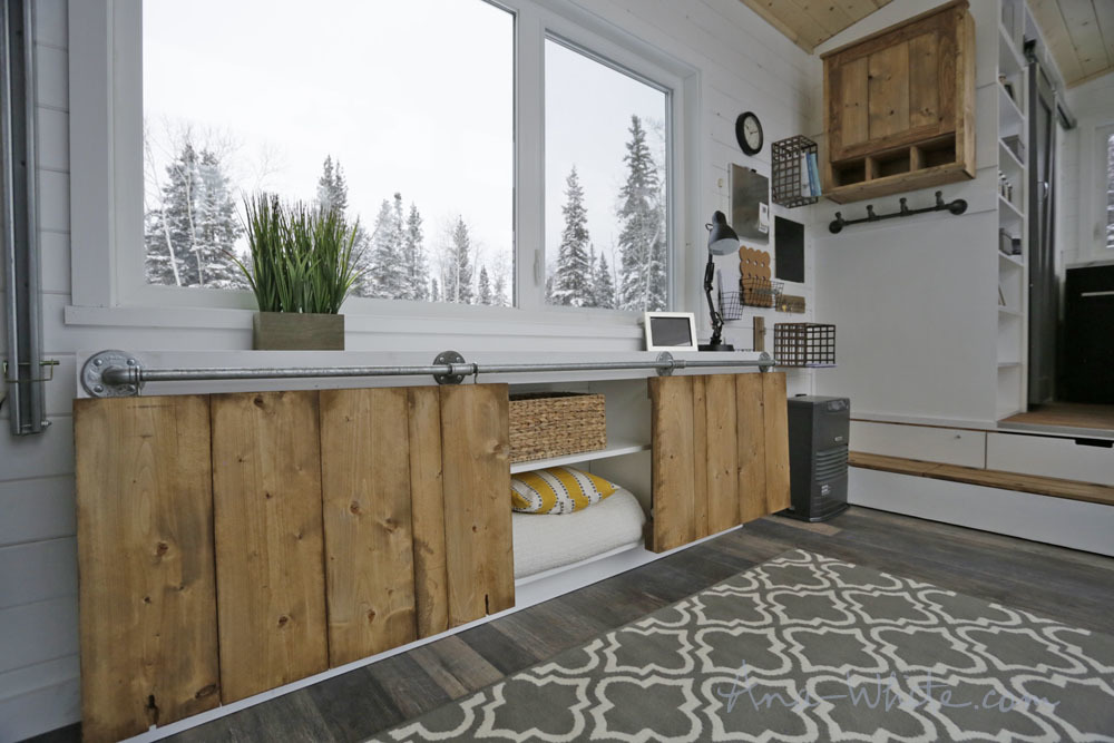 showers for tiny houses open concept rustic modern tiny house photo tour and sources ana