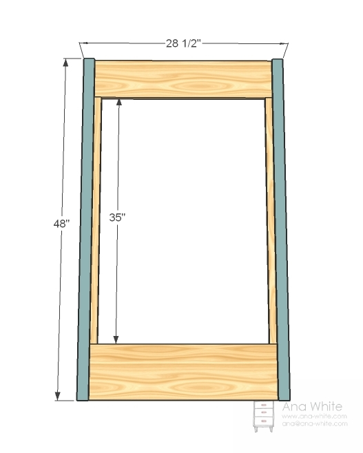 How to make a Wood Mirror Frame  YouTube