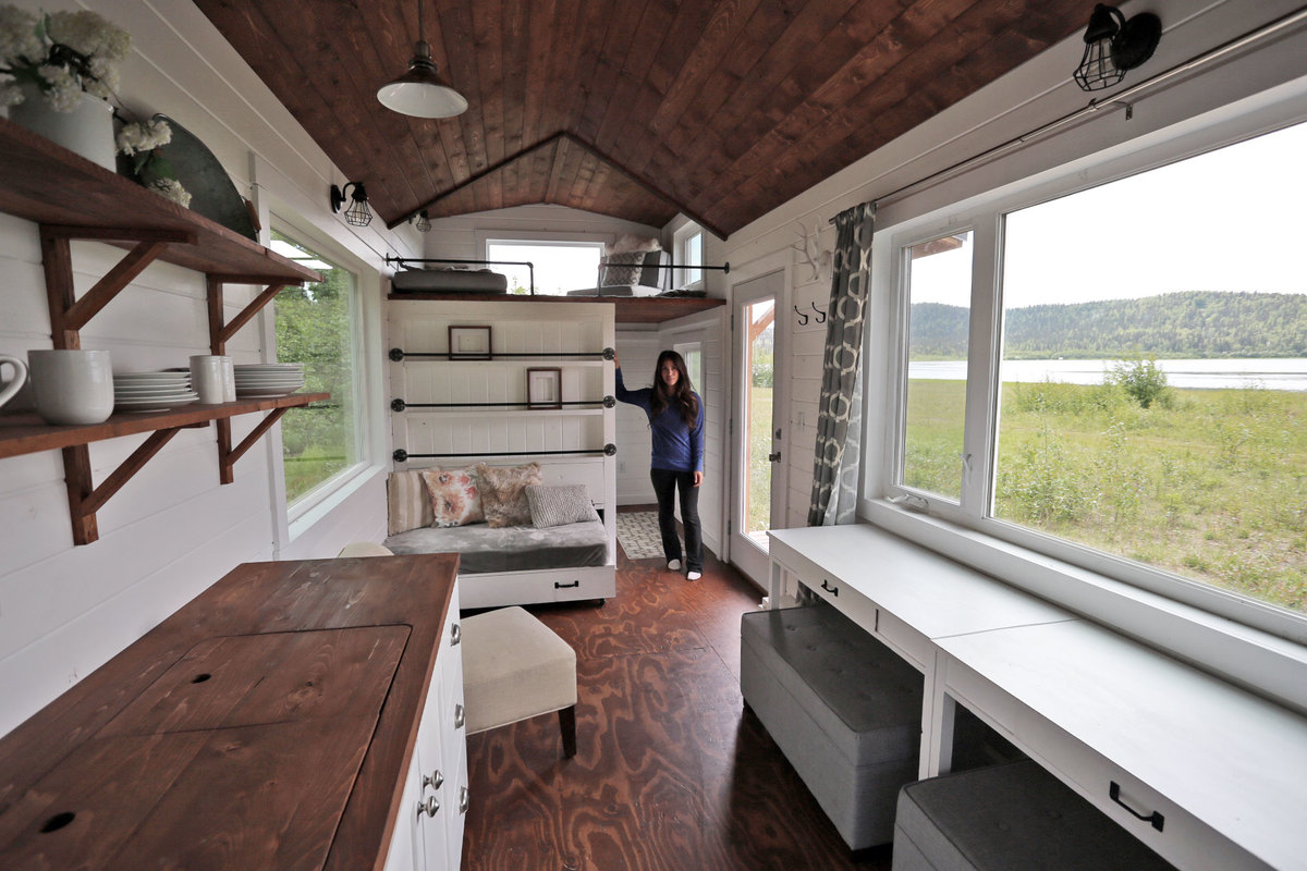 Quartz Tiny House - Free Tiny House Plans | Ana White